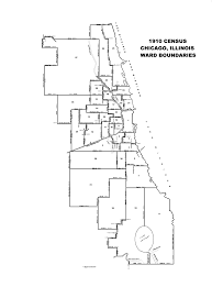 40th ward chicago map 1910 chicago ward map