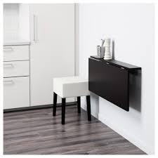 nils bjursta table and 1 stool brown black blekinge white 90 cm ikea