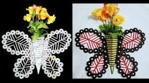 Best Out Of Waste Flower Vase Hmongbuy Net Newspaper Flower Vase Diy Newspaper Crafts Best