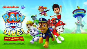paw patrol live race rescue au rene theater