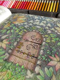 passion for pencils my secret garden colouring book part 3