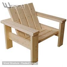 chaise jardin bois com chaise jardin castorama