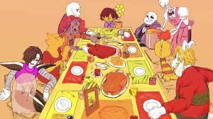 undertale theme thanksgiving song