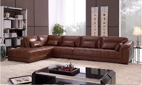 leather corner sofa free shipping living room sectional leather corner sofa classic l
