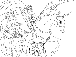 shera coloring pages james eatock presents the he man and she ra