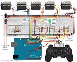 ps2 controller arduino and servo circuit cnc technical ideas