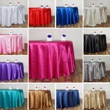Wedding Table Clothes Round 120