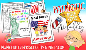 fourth of july bible printables