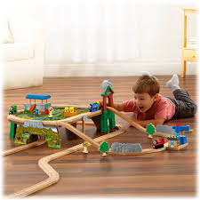 fisher price thomas the train table thomas friends wooden railway mountaintop supply run set fisher