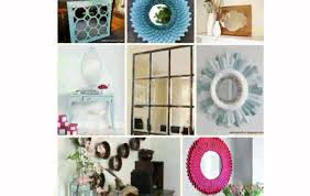 home design ideas how to decorate a mirror without a frame ways