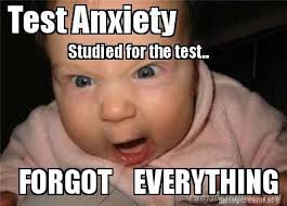 Test Taking Meme - how to manage test taking anxiety part 1