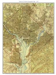 Alexandria Va Map Old Topo Maps Of Washington D C