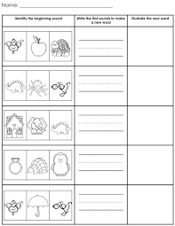 brilliant ideas of blending cvc words worksheets with additional