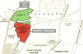 mapping layout perusahaan jesin group property developer taman lurik indah desa bayanmas
