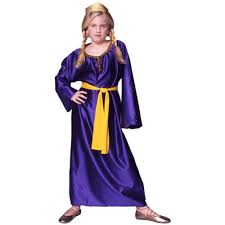 esther purim costume child s esther costume size large 12 14 by rg