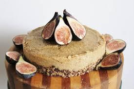 raw lemon and fig cheesecake vegan gluten free raw vegan