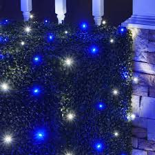 for 41 99 easy to use led net lights with cool white blue 5mm