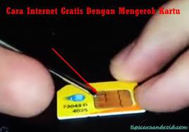 cara mendapatkan internet gratis telkomsel cara internet gratis dengan menggosok kartu trik cara internet