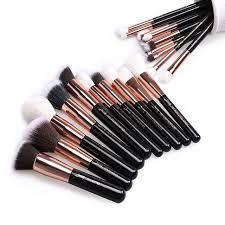professional makeup tools online shop jessup brushes 25pcs gold black professional