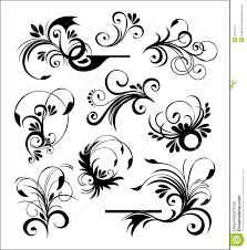 style ornaments vector stock image image 5407471
