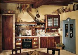 creative rustic kitchen light cream walls dark finished dining creative rustic kitchen light cream walls dark finished dining furniture white counter rustic kitchen furniture creative appliance on top cabinet and hanged