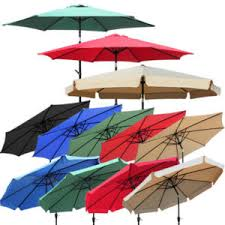 How To Fix Patio Umbrella Patio Umbrella Replacement Canopy Ebay