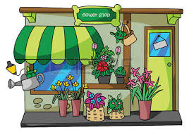 Flower Store Flower Shop Royalty Free Cliparts Vectors And Stock Illustration