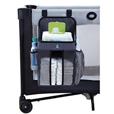Playard With Changing Table Hiccapop Playard Nursery Organizer And Diapers
