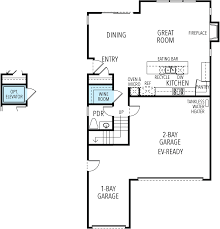 Micro Floor Plans by New Home Floor Plans Crescent Square