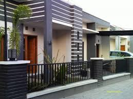 impressive exterior paint shades with black iron fence has brown