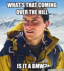 Over The Hill Meme - that coming over the hill