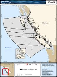 Pacific Region Map Groundfish 2017 Integrated Fisheries Management Plan Summary