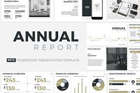 annual report ppt template 8 in 1 powerpoint bundle presentation templates creative market