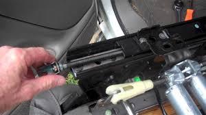 2012 chevy express 3500 repair manual gm sliding loose seat repair youtube