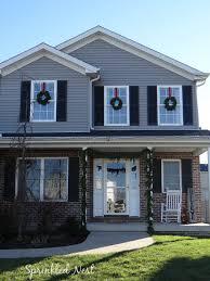 Wreaths For Windows Rustic Vintage Home Tour Sprinkled Nest