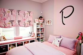 Bedroom Ideas Bed In Corner Pink And Purple Wall And Purple Blanket On The Bed Connected By