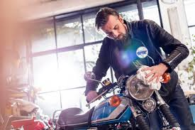 how to paint motorcycle parts for restoration