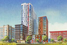 northeastern unveils plans for new 800 bed residence hall