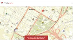 Map Of Pokemon World by Pokemon Go Pokevision Shows You The Locations Of Pokemon In Real Time