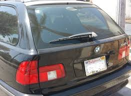 bmw e39 540i 530i wagon installing rear hatch lift support