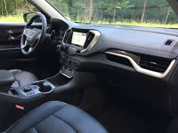 gmc terrain 2018 black first drive redesigned 2018 gmc terrain carfax blog