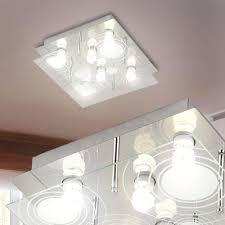 Wohnzimmer Leuchten Lampen Decke Leuchten Lampe Licht Metall Muster Satiniert Wohnzimmer