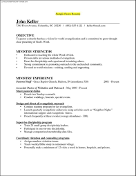 sample pastoral resume my resume design for a pastoral position