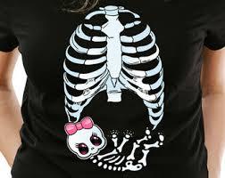 skeleton maternity etsy