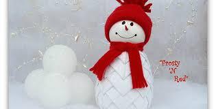 make a snowman ornament quilting digest