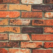 chinese red bricks 3d wallpaper 3d retro brick mural wall paper