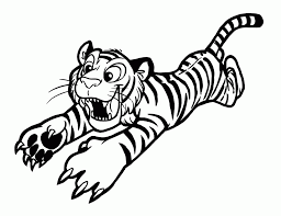 wolf face coloring page tiger printables coloring home