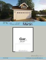 craftsman style garage plan margin