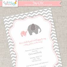 elephant baby shower invitations whirligigs party co elephant baby shower