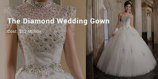 most expensive wedding gown 10 most expensive priced wedding dresses successstory